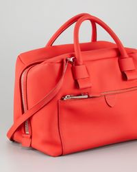 Marc Jacobs Antonia Small Satchel Bag Red