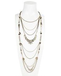 Maria Zureta | Metallic Long Paste Spoon Necklace | Lyst
