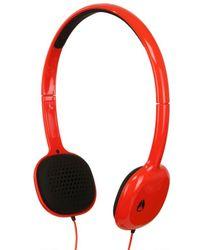Nixon Red The Loop Headphones for men