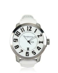 Tendence White Gulliver Swiss Made Watch for men