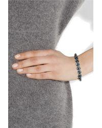 Eddie Borgo - Metallic Lotus Ionized Cone Bracelet - Lyst