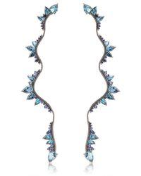 Fernando Jorge - Blue Electric Lightning Earrings - Lyst