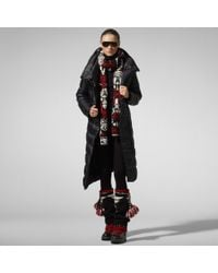 RLX Ralph Lauren | Black Long Cosmic Down Coat | Lyst
