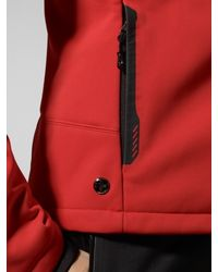 RLX Ralph Lauren Red Recco Nome Softshell Jacket