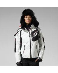 RLX Ralph Lauren White Pilot Jacket