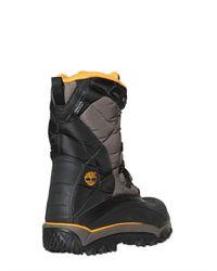 Timberland Black Tecnico Nylon Snow Boots for men