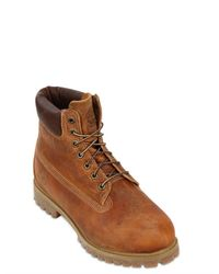 Timberland Brown Authentic Vintage 6 Inch Boots for men