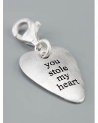 Bjorg - Metallic You Stole My Heart Charm - Lyst