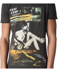 Death by Zero Black Heat Of Night Tshirt for men