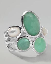 Ippolita - Green Wonderland Five-Stone Ring  - Lyst