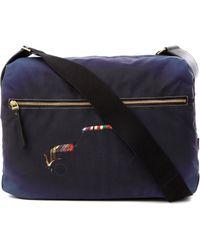 Paul Smith Black Mini Highlight Flight Bag for men