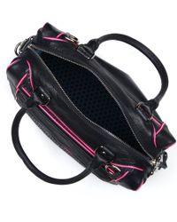 Rebecca Minkoff Black Mab Mini Leather Shoulder Bag
