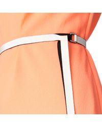 ROKSANDA Orange Adler Belted Dress