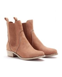Marc By Marc Jacobs Brown Suede Chelsea Boots