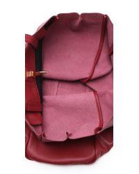 Rachel Zoe Red Eve Day Tote Bag