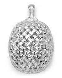 Slane Metallic Basketwoven Pendant