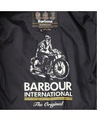 Barbour Black Tankerville Quilted Jacket for men