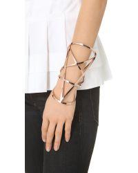 Pamela Love Metallic Pentagram Cuff - Rose Gold