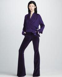 Rachel Zoe Blue Pants Hutton Tuxedo