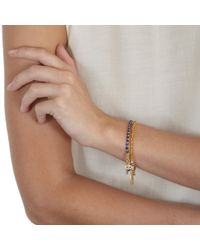 Astley Clarke Metallic Follow Your Dreams Friendship Bracelet