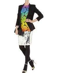 Christopher Kane - Multicolor Floralprint Modal Tshirt - Lyst