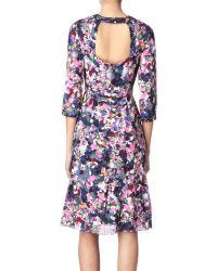 Erdem Purple Darla Dress