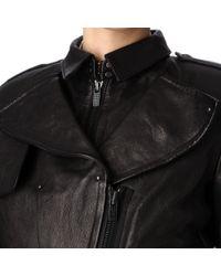 Kelly Wearstler Black Triton Leather Jacket