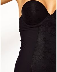 Ultimo - Black Miracle Backless Strapless Shaping Dress - Lyst