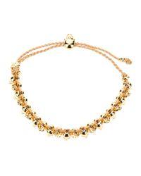 Alexander McQueen | Metallic Skull Friendship Bracelet | Lyst