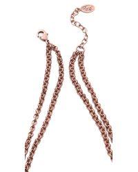 Theodora & Callum Metallic Agra Necklace
