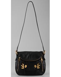 Marc By Marc Jacobs - Black Natasha Petal To The Metal Cross Body Handbag - Lyst