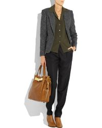 Michael Kors Brown Hadley Large Leather Tote