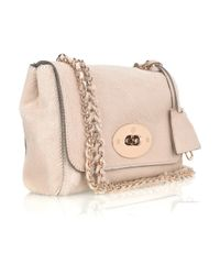 Mulberry | Pink Lily Texturedleather Shoulder Bag | Lyst