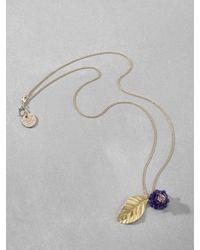 Patrizia Pepe | Purple Junk Jewellery Necklace | Lyst