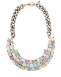 Anton Heunis Multicolor Candy Store Collection Chains Necklace
