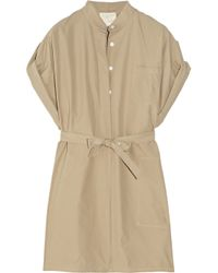 Boy by Band of Outsiders | Natural Cotton-poplin Safari Dress | Lyst