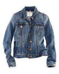 H&M | Blue Denim Jacket | Lyst