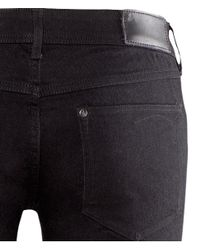 H&M Black Super Skinny Super Low Jeans