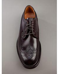 Alden Brown Horse Leather Brogue for men