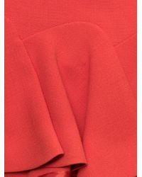 Carven | Pink Double Crepe Skirt | Lyst