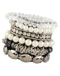 ALDO | White Bracelet | Lyst