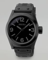 Brera Orologi Black Eterno Solotempo Watch for men