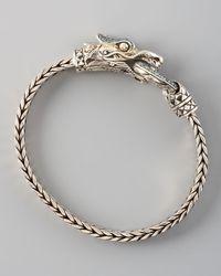 John Hardy - Metallic Naga Head Bracelet - Lyst