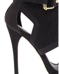 ASOS | Black Top Secret Sandal Shoe Boots | Lyst
