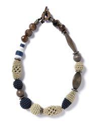 Weekend by Maxmara Blue Lesena Necklace