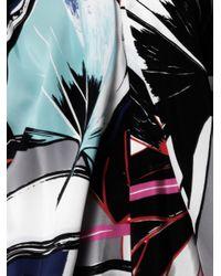 Balenciaga | Multicolor Ginko-Print Ethereal Dress | Lyst