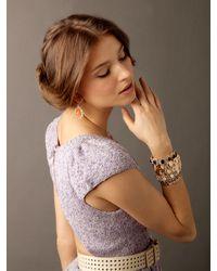 BaubleBar - Black Onyx Bloom Bracelet - Lyst