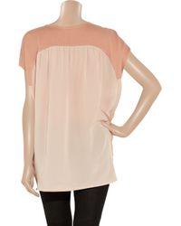 Miu Miu Pink Cotton and Silk Tunic