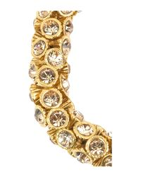 Philippe Audibert | Metallic Stone Encrusted Bracelet | Lyst
