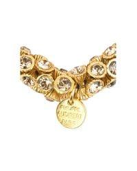 Philippe Audibert - Metallic Stone Encrusted Bracelet - Lyst